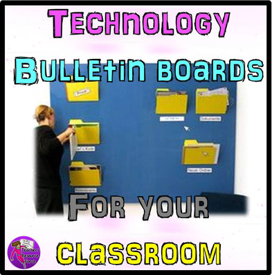 Technology Themed Bulletin Board Ideas