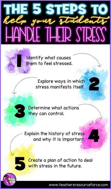 The 5 steps to help your students manage their stress