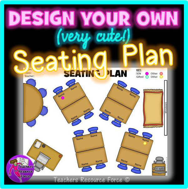 Interactive Classroom Design Tools ~ Classroom furniture birdseye view clipart seating plan