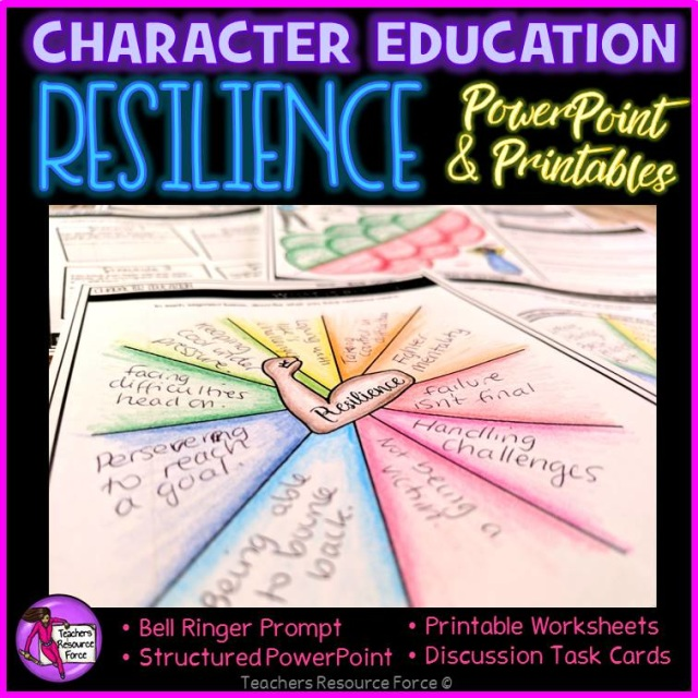 Resilience Lesson Character Education