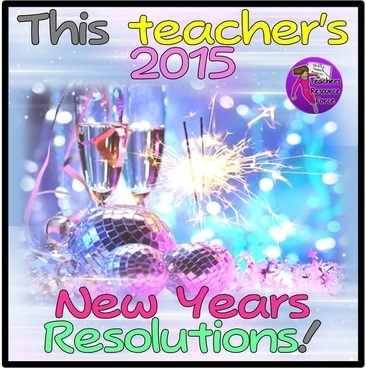 A teacher's new year's resolutions