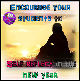 Encourage your students to reflect in the new year