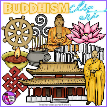 Buddhism clip art @resourceforce