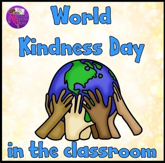 World kindness day in the classroom