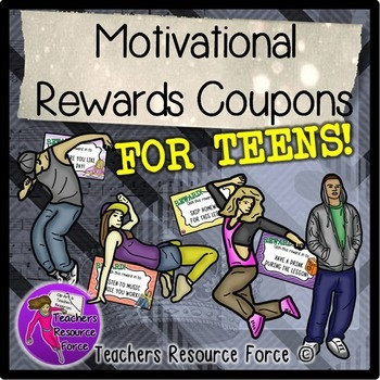 Rewards coupons for teens