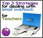 dealing with email overload for teachers