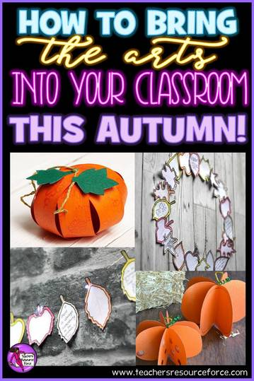 How to bring the arts into your classroom this autumn