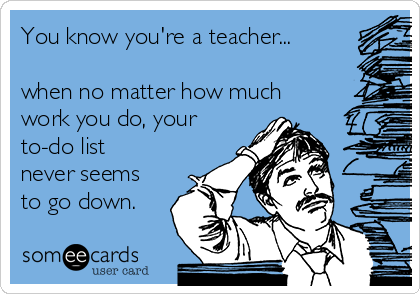 Here's an a fun end of the week (almost!) pick me up for you today! I came up with these 10 funny ways you know you're a teacher... I hope you enjoy, and let me know if you can relate to any of these! www.teachersresourceforce.weebly.com