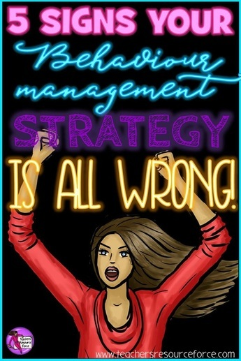 5 signs your behaviour management strategy is all wrong
