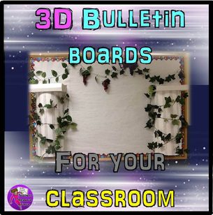 Examples of 3D Wall Displays / Bulletin boards for your classroom