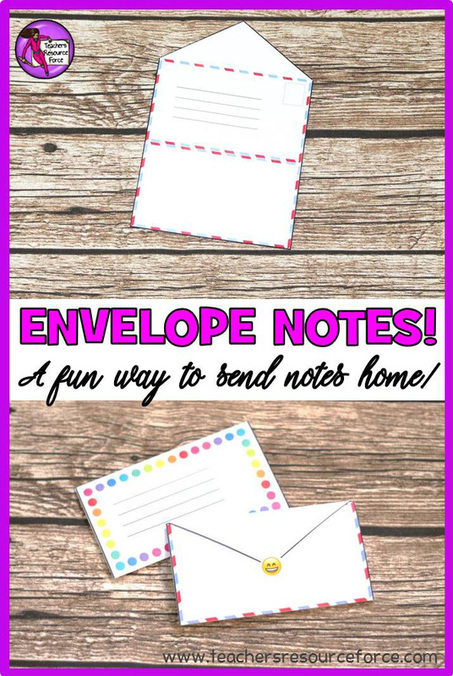 A fun way to send notes home to students