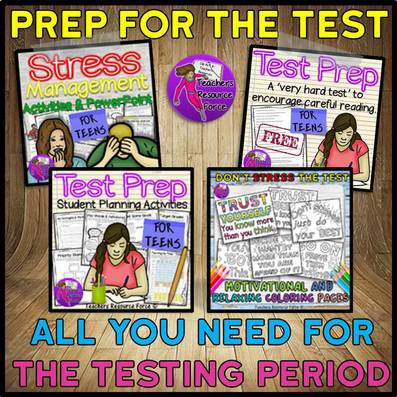 Prep for the Test - all you need for the testing period