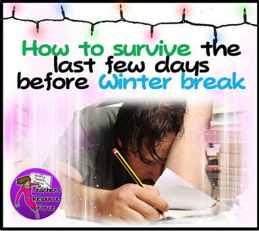 How teachers can survive the last week before winter break