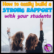 How to easily build a strong rapport with your students