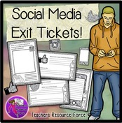 Check understanding with social media exit tickets