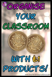 Organise your classroom with £1 products
