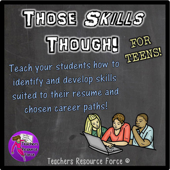 Teach your students what skills employers are looking for and help them with their resume
