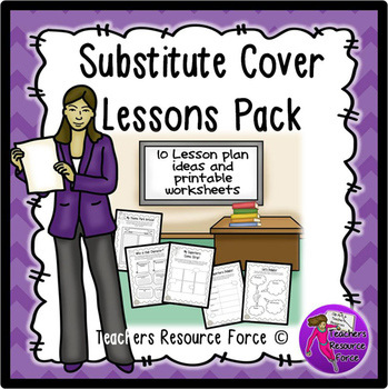 Emergency sub lesson plans for teachers