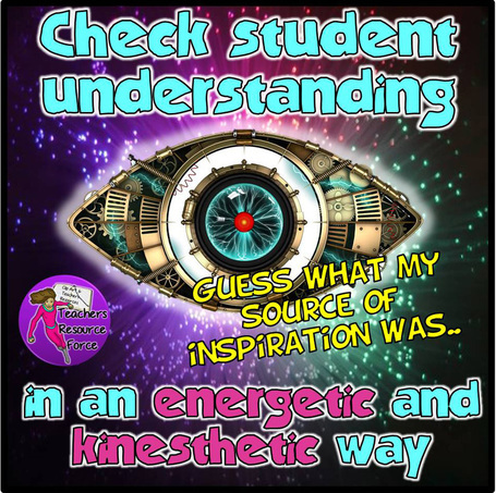 Check student understanding in an energetic and kinesthetic way
