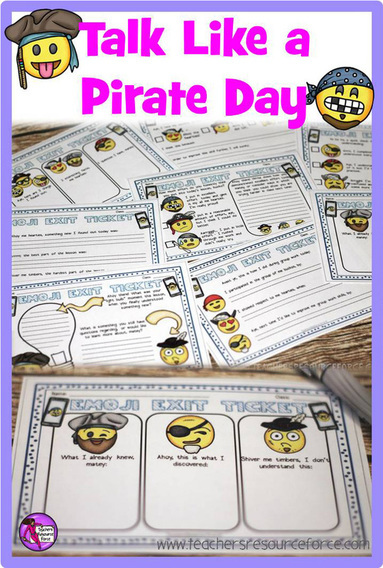 International Talk Like a Pirate Day in the Classroom