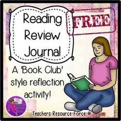 Encourage your students to read with this reading review journal