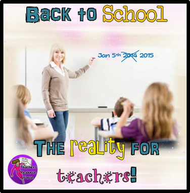 Back to school reality for teachers