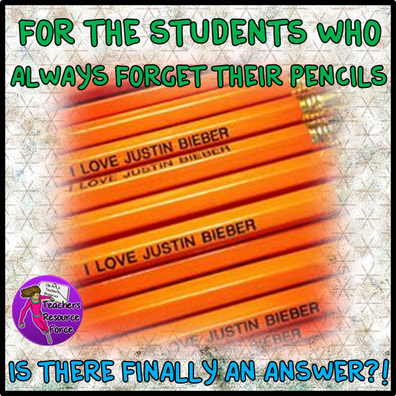 For the students who always forget their pencils