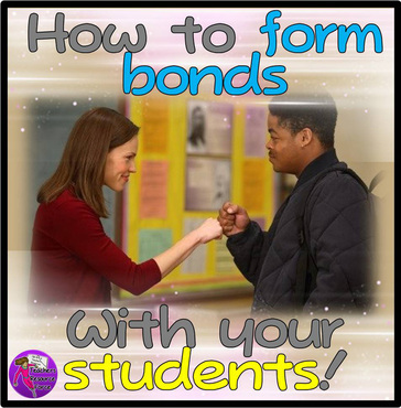 How to bond with your students