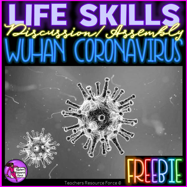 Free Wuhan Coronavirus lesson / assembly resource to help reduce negative jokes and racist comments from students | Teachers Resource Force