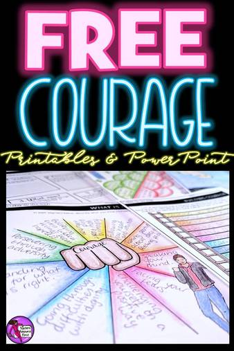 Are you interested in being an inspirational teacher who helps your students develop good character and demonstrate courage? This courage resource is a great starting point that you can introduce into your morning meeting routine! You can get this for free right now!