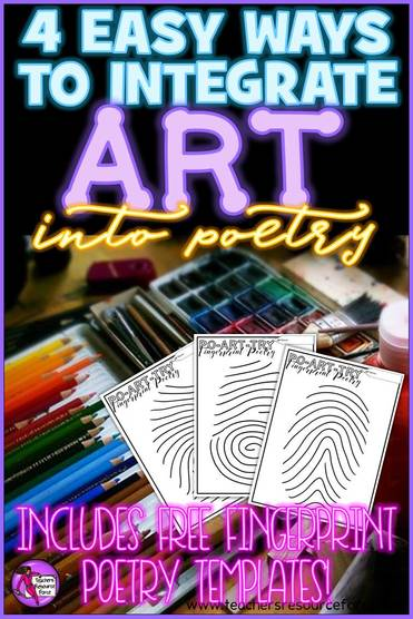 4 easy ways to integrate art into poetry