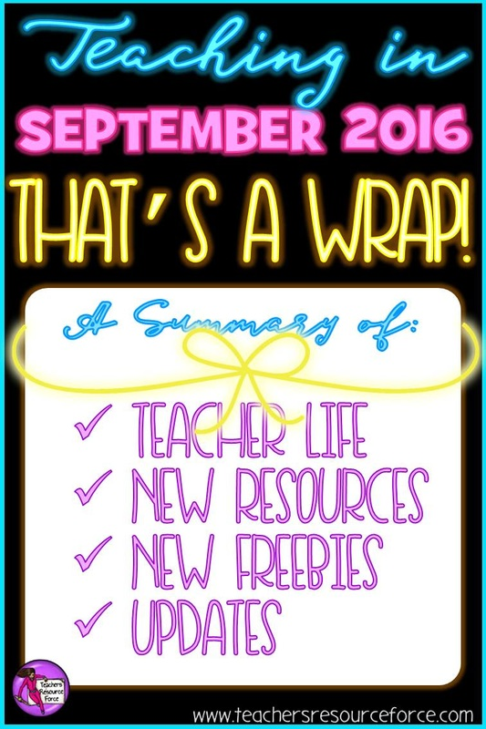 Teaching September 2016